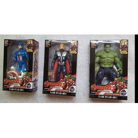 Muñeco 21cm Avengers Iron Man Capitan America Thor Hulk