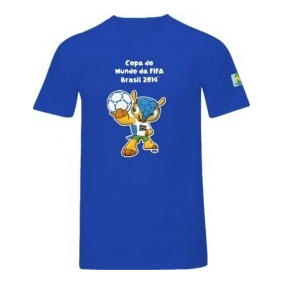 Camiseta Fifa Fuleco Copa Do Mundo Brasil 2014