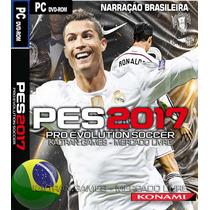 Pse Pro Evolution Soccer 2017 Narração Português Pc