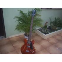 Baixo Semi-acústico Modelo Gibson E- 335
