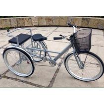 Triciclo Vintage Platino Rin Rin Biclas