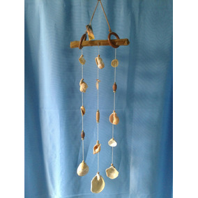 Llamador De Angeles Rustico Artesanal Decoración Para El Hogar En