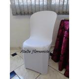 Capa P/ Cadeira Plastica C/tecido (suplex ) Kit 100