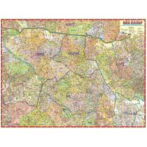 Mapa São Paulo Centro Expandido 120cm X 90cm Gigante