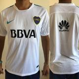 Camiseta De Entrenamiento Blanca Boca Juniors 2017/18