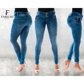 Jeans Super Pretina Bota Tubo 66548