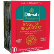 Té English Breakfast Dilmah Importado Sri Lanka 10 U.