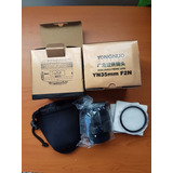 Lente Yongnuo Yn35mm F2 Para Nikon