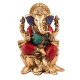 10 \estatua De Ganesh Grande Hecho A Mano Ganesh Idol Decor