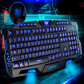 Teclado Iluminado Multimídia Action Gamer Anti-ghosting