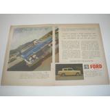L 290/ Pbmk280 Propaganda Antiga Veículo Ford Anglia 1959
