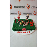 Jugadores De Rugby, Fútbol, Otros Deportes X4 Porcelana Fria