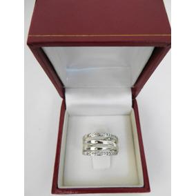 Anillo Tous Con Diamantes Plata Esterlina 100% Original.