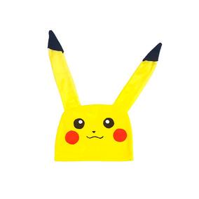 Touca Pikachu Pokemon Gorro Anime Cosplay Pronta Entrega