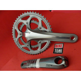 Pedivela Shimano 105 10v 50/34 175mm + Movimento Central