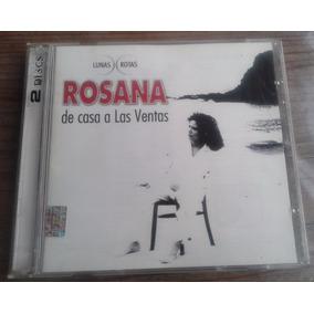 Rosana De Casa A Las Ventas Edic Especial 2 Cds C/booklet