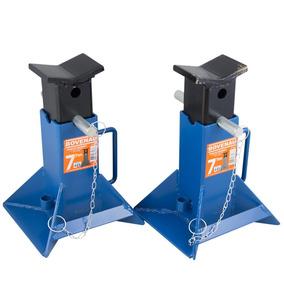 Cavalete Mecânico Para 7 Toneladas - 1 Par Bovenau-ct7000
