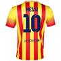 Camiseta Original A1 2015 Barcelona Visitante Messi Y Neymar