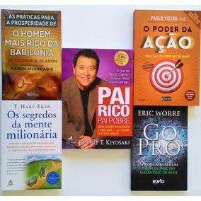 Pai Rico Nova Edição+ Go Pro+ Mente + Poder Ação+ Babilônia§