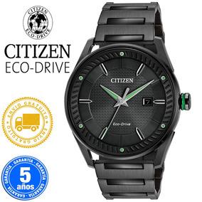 Reloj Citizen Bm6985-55e Ecodrive Acero Pavonado -kairos-