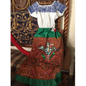 Traje De China Poblana Antiguo Puebla
