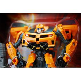 Transformer Muñeco Bumblebee Carro Para Niños Nuevo Grande