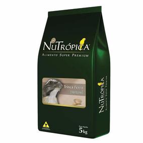 Ração Nutropica Para Pixarro Trinca Ferro Natural 5 Kg