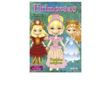 Vestido Magicos Princesas Niñas Juego Recorte