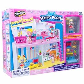Shopkins Happy Places Casa Con Muñeca Shopkins Y Accesorios