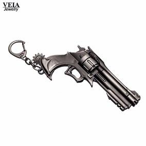 Chaveiro Revolver Cowboy Faroeste Tracer Reaper Overwatch
