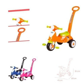 Triciclo De Paseo Para Bebe My Little Bike Cutebabies