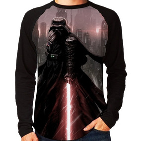 Camisa Camiseta Blusa Star Wars Luke E Darth Vader
