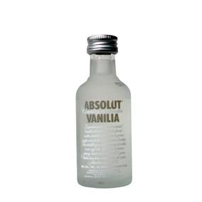 Vodka Absolut Mini 50ml Kit Com 12 Garrafas Sabor Baunilha