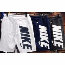 Kit 3 Bermuda Moleton Nike Shorts Nike Academia Excelente Q.