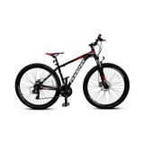 Bicicleta 29 Mtb Phoenix Tk600 Negra/roja
