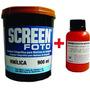 Emulsão Azul Silk Screen Serigrafia Solvente+ Sensibilizante