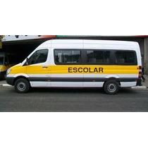Van Sprinter 415 Escolar 20+1 Extra Longa Ano 2015