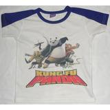 Franela Sublimada Kung Fu Panda Talla 6 Usada