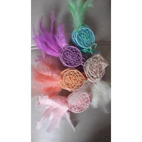Atrapasueños Souvenirs De Todos Los Colores Con 1 Pluma