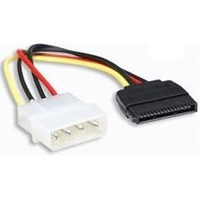 Cable De Energia Poder Power Adaptador Ide A Sata 4 Pines