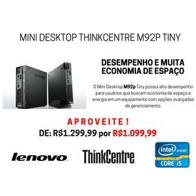 Cpu Lenovo Thinkcentre M92p Mini Core I5 3ºgeração 4gb 500gb