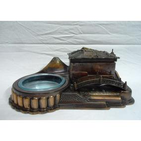 Antigua Caja Musical Cobre Anillero Alhajero Sankyo (2531)