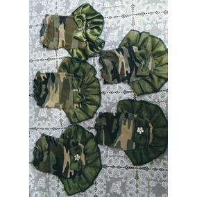 Lote Paquete 5 Vestidos Perrita Talla Uno Camuflaje Militar