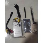 Kit Transmissor De Vídeo + Receptor 1.2ghz 1000mw