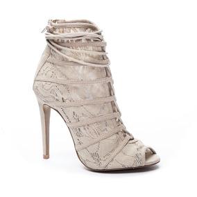 Zapato Dama Bota Jingle Piel Hells Chinese Laundry