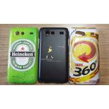Capinha Bebidas E Cartoon P/ Galaxy S2 Lite I9070