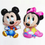 Balão Metalizado Mickey / Minnie Baby Gigantes