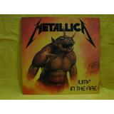 Vinilo E.p 12 Pulgadas Metallica Jump In The Fire