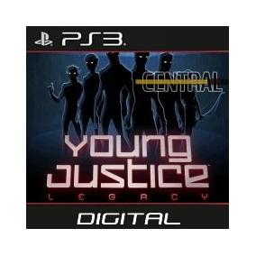 Liga Justiça Jovem Young Justice Legacy Psn Ps3 Leg Pt