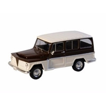 Miniatura De Carro Willys Rural 1968 1:43 Ixo